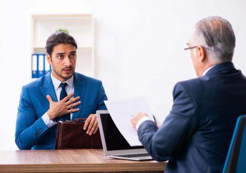 Boasting in job interview