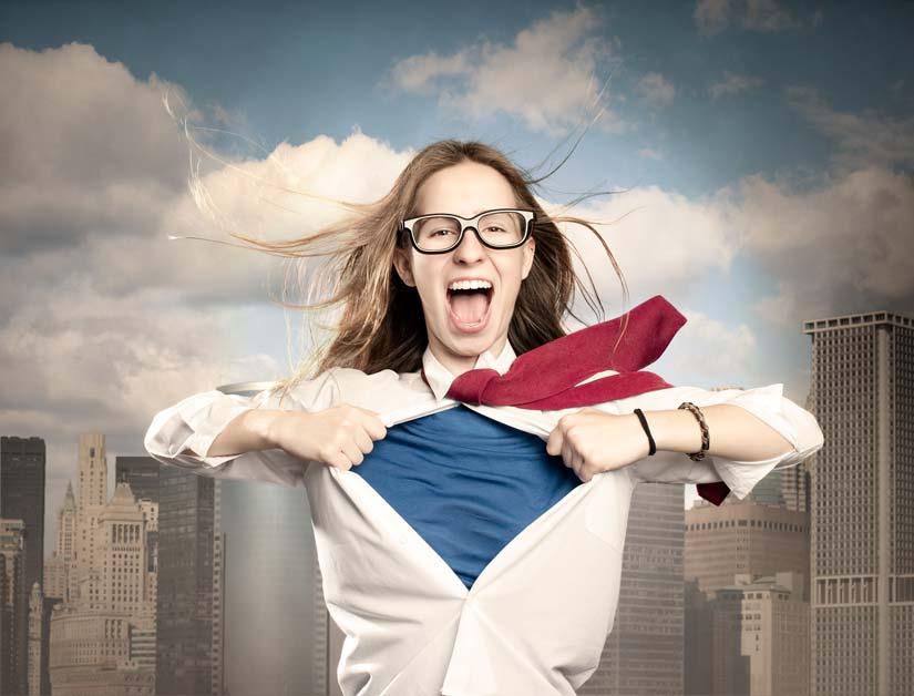 Superwoman jobseeker